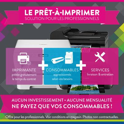 Prêt à imprimer - Cartridge World Pau
